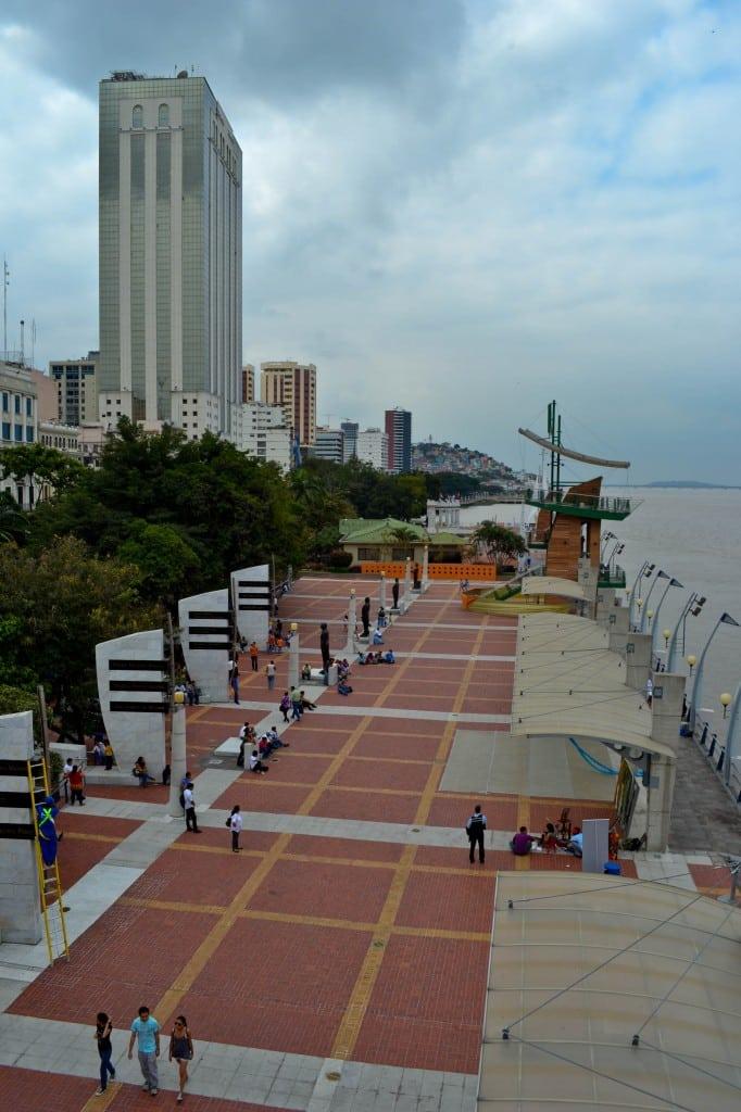 The Malecon Guayaquil Ecuador