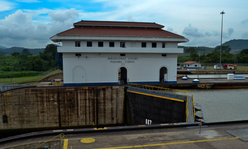 Miraflores Locks Panama Canal Panama City
