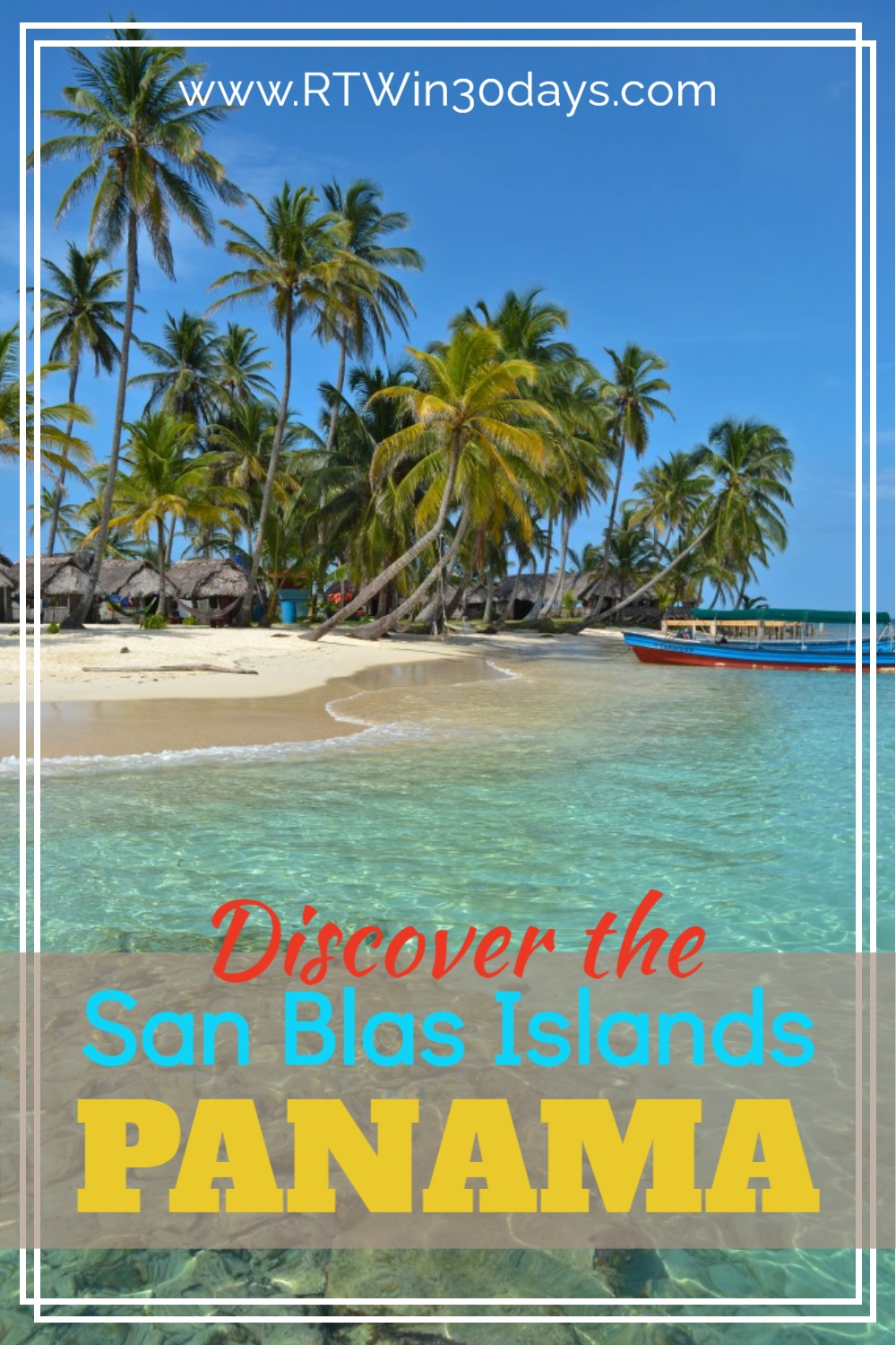 Panama Islands San Blas Caribbean