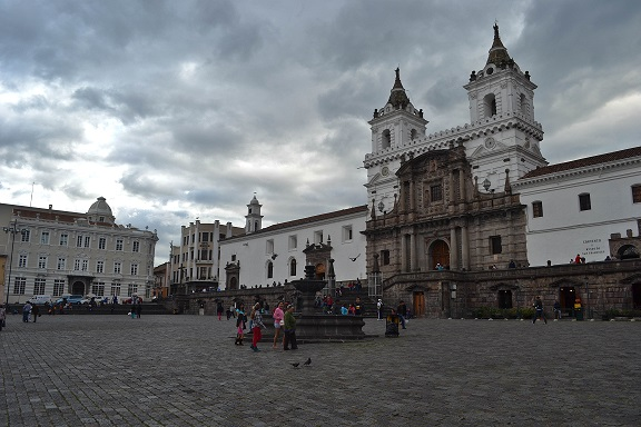 San Francisco Church Quito Ecuador