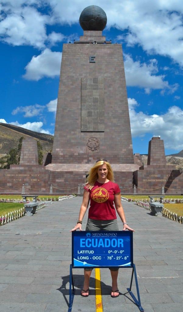 The Equator Mitad del Mundo Ecuador