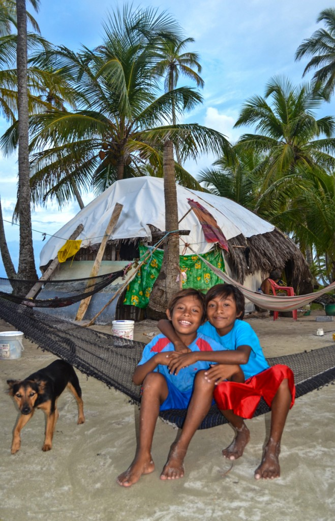 Kuna Family San Blas Islands Panama