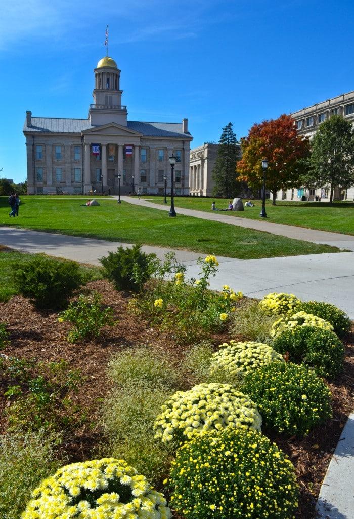 Old Capitol Building Iowa City Address