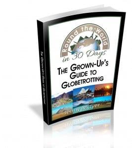 Plan an around the world trip book