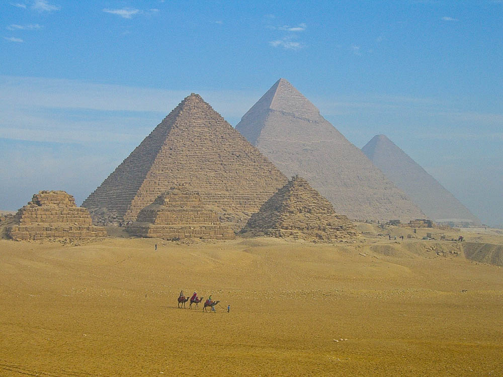 Pyramids Giza Cairo Egypt