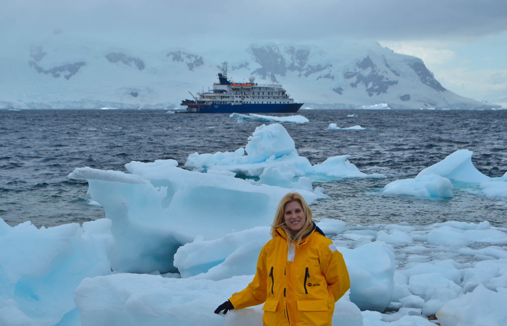 Travel the world solo Antarctica