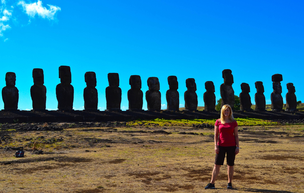 Ahu Tongariki Easter Island Chile