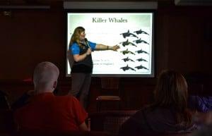 Whale lecture Sea Spirit Antarctica