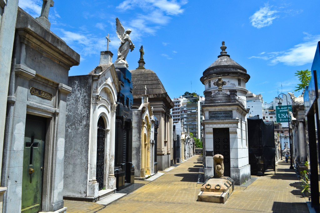 Recoleta Cemetery Buenos AiresObelisk Buenos Aires Argentina Argentina