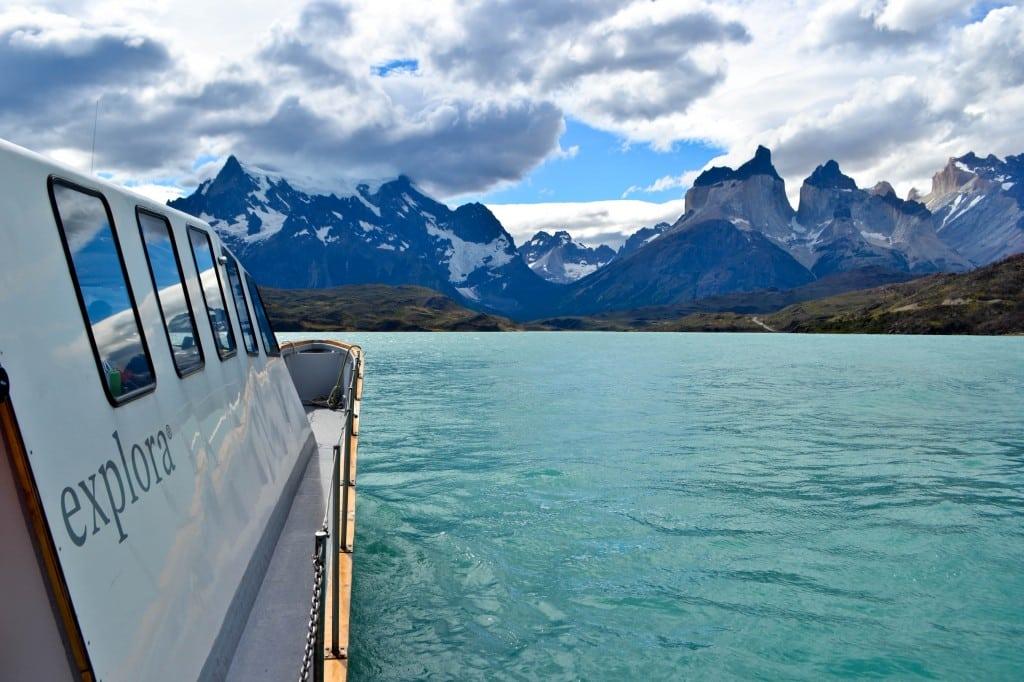 Lake Pehoe Patagonia Chile