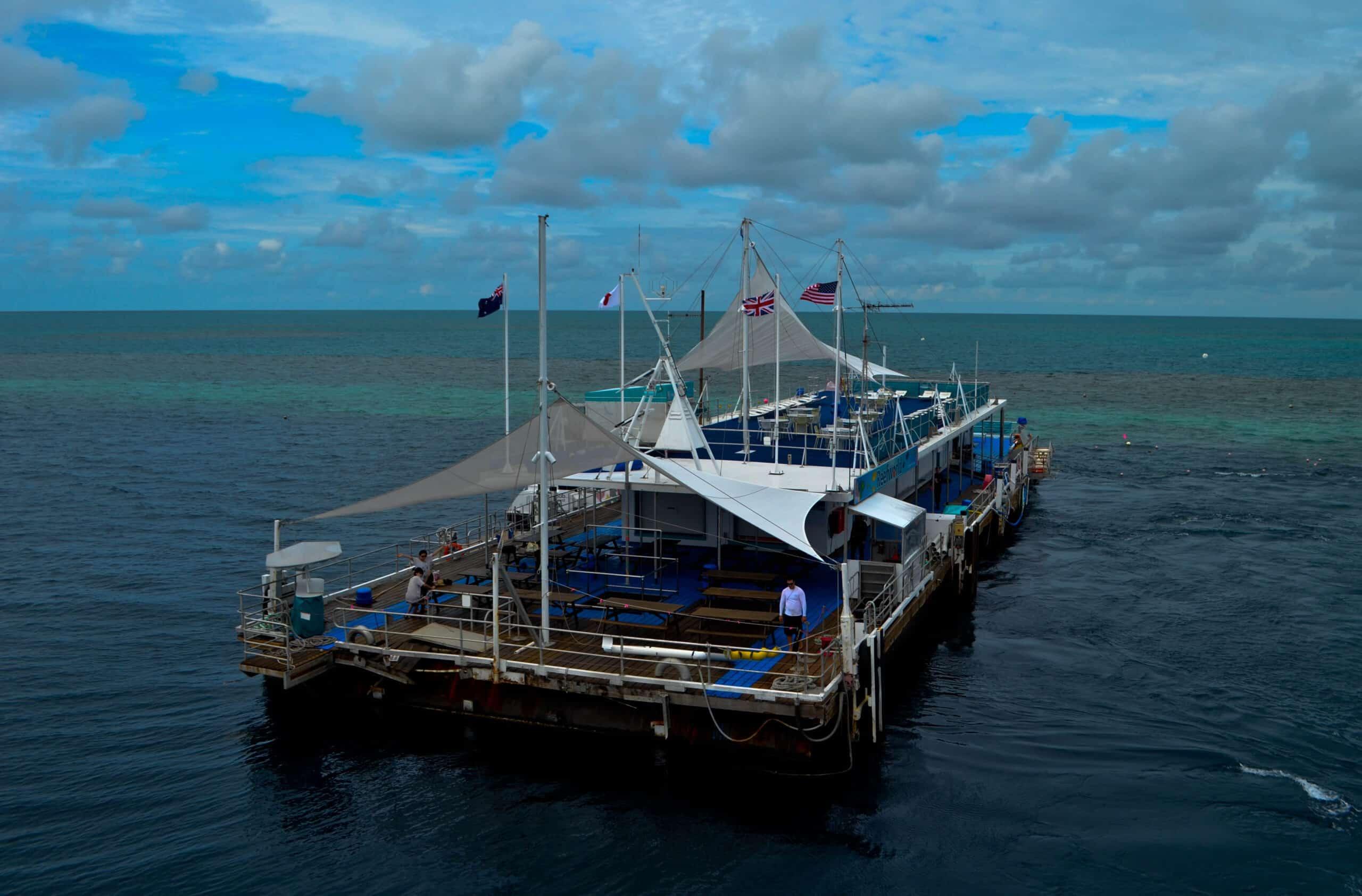 Hardy Reef Pontoon Great Barrier Reef