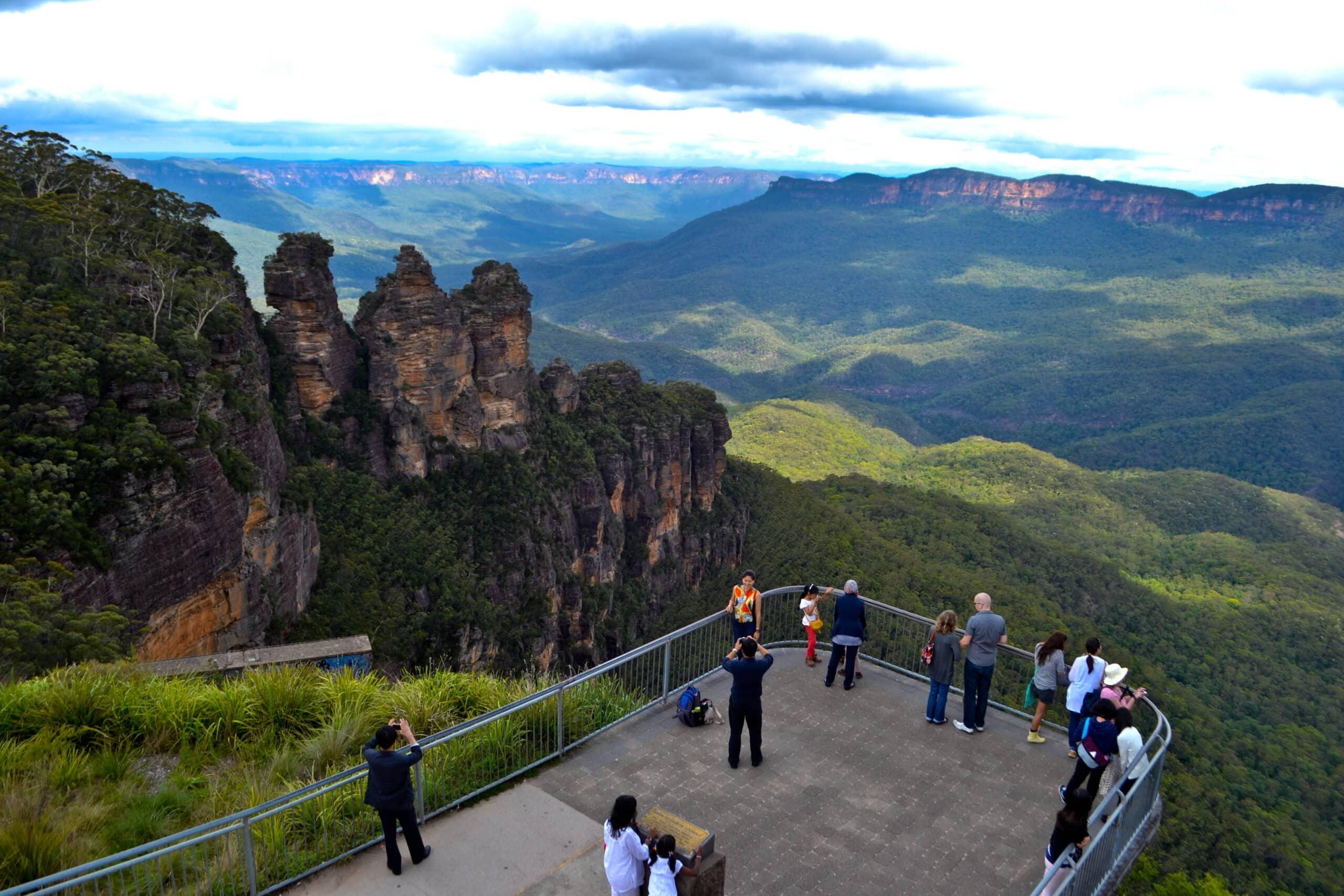 Three Sisters Blue Mountains Australia