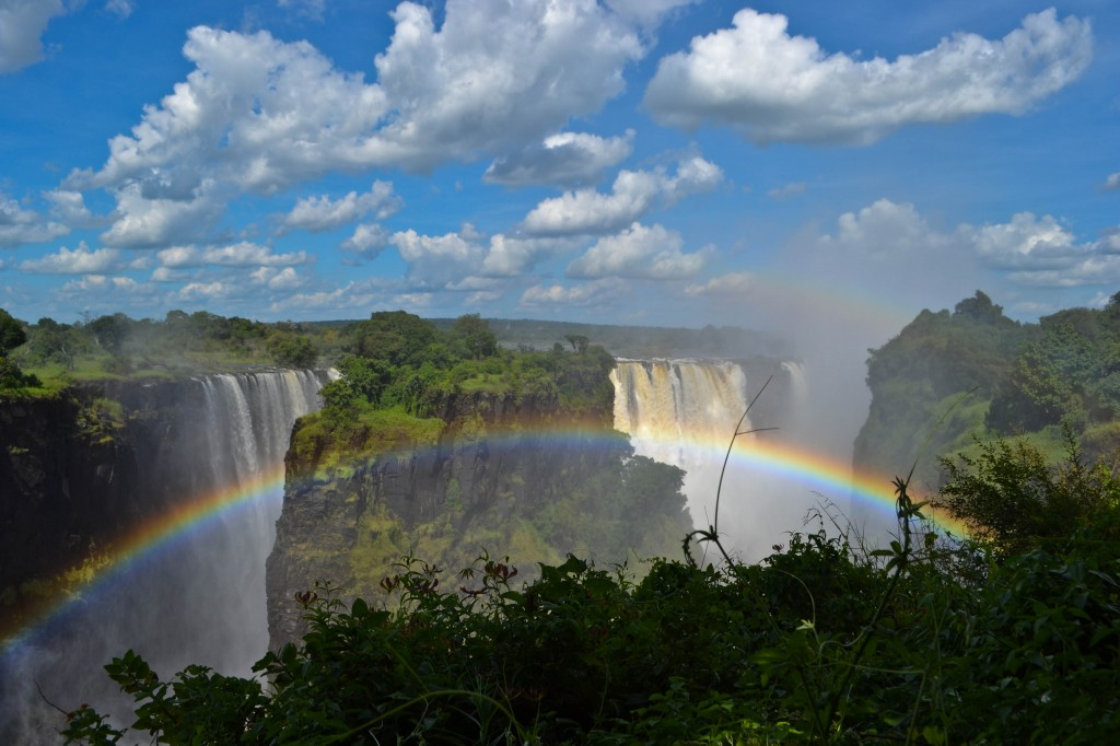 Devil's Cataract Victoria Falls Zimbabwe