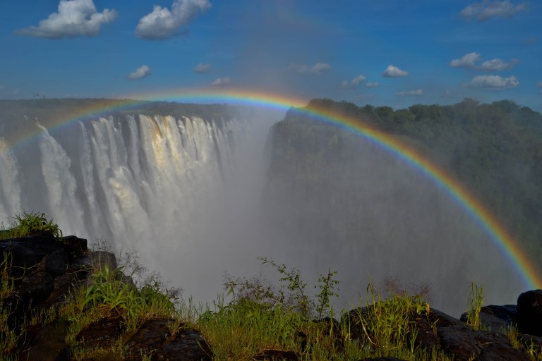 Lucky in Livingstone: A Visit to Victoria Falls