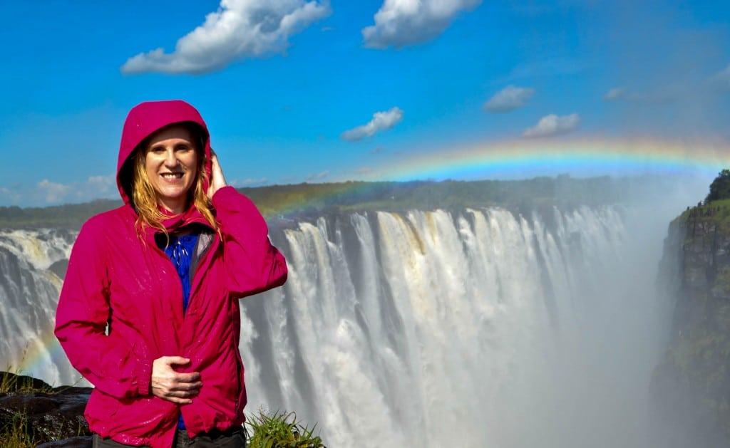 Rainbow Falls Victoria Falls Zimbabwe