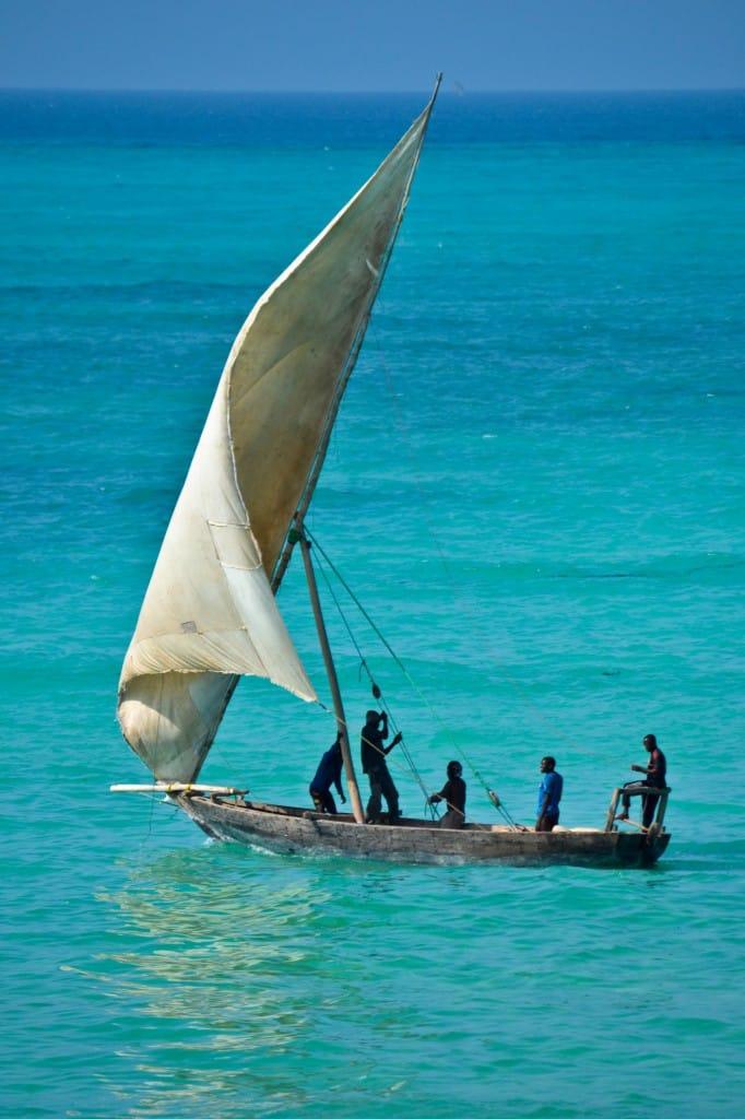 Dhow Nungwi Beach Zanzibar