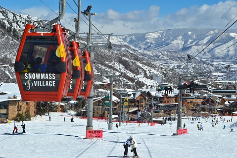 Snowmass Mountain Aspen