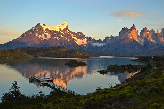 Sunrise Patagonia Chile