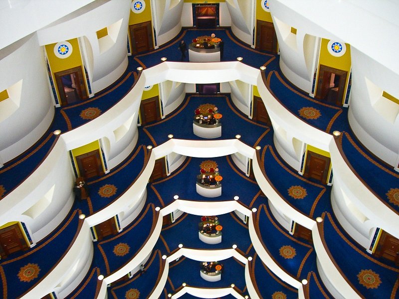 Inside the Burj Al Arab Dubai