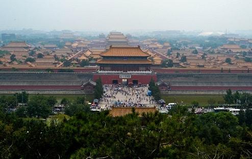 The Forbidden City Beijing China
