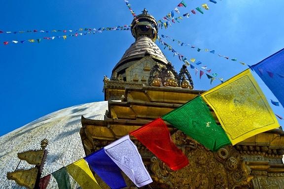 Swayambhu Monkey Temple Kathmandu Nepal