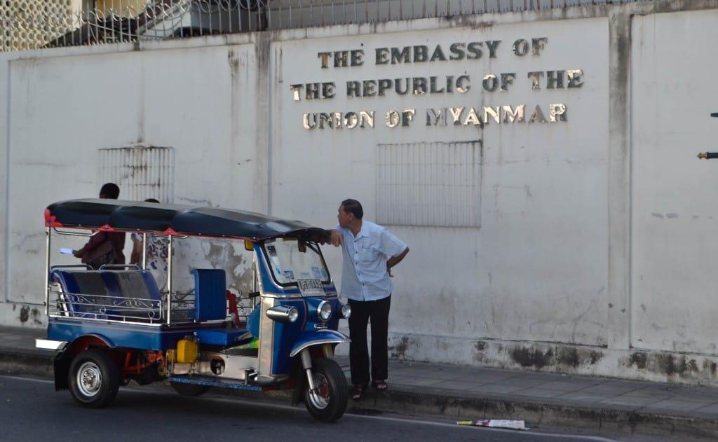 Myanmar Embassy Bangkok Thailand