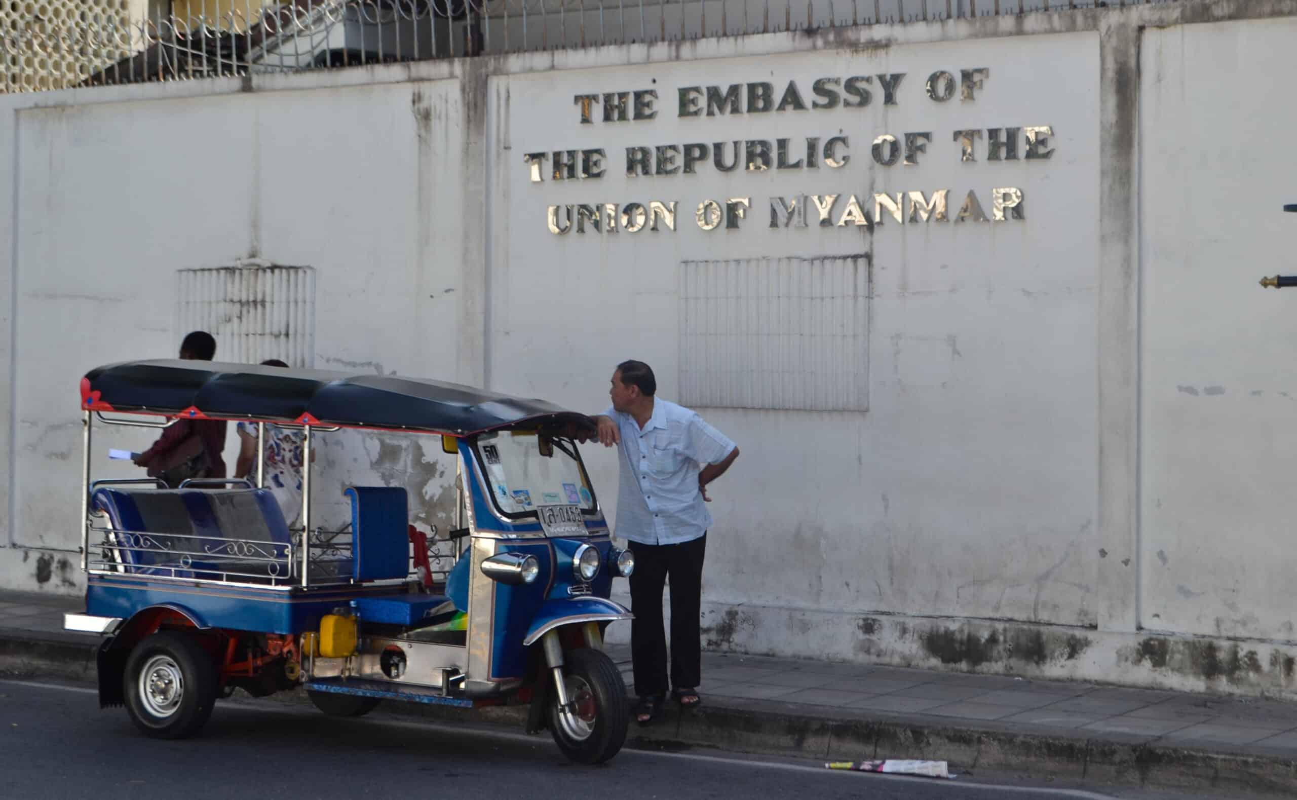 Myanmar visa in Bangkok