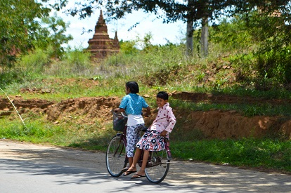 Children Bagan Myanmar