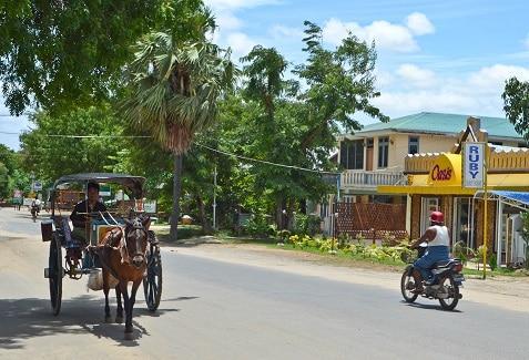 Horse Cart New Bagan Myanmar