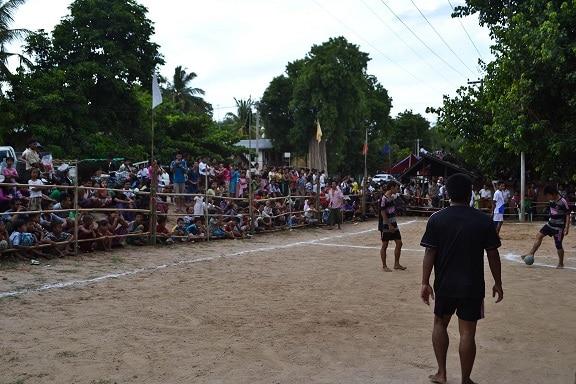 Football match Bagan Myanmar