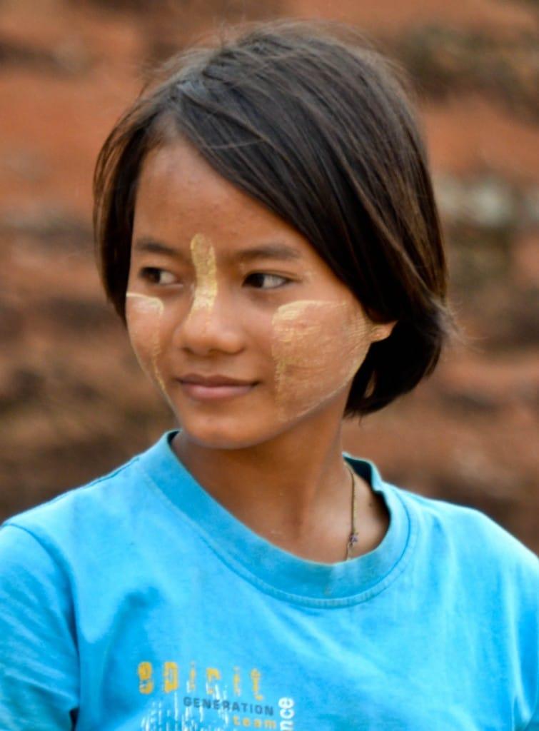 thanaka Bagan Myanmar