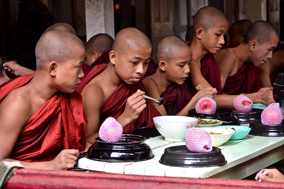 Mahar Gandaryone Monastery Myanmar