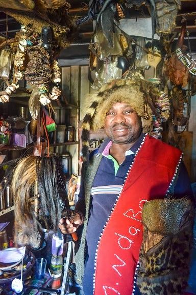 Ndaba Medicine Man Langa Township Cape Town