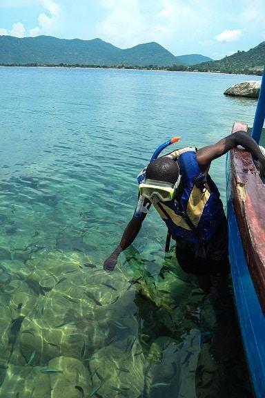 Thumbi Island Lake Malawi