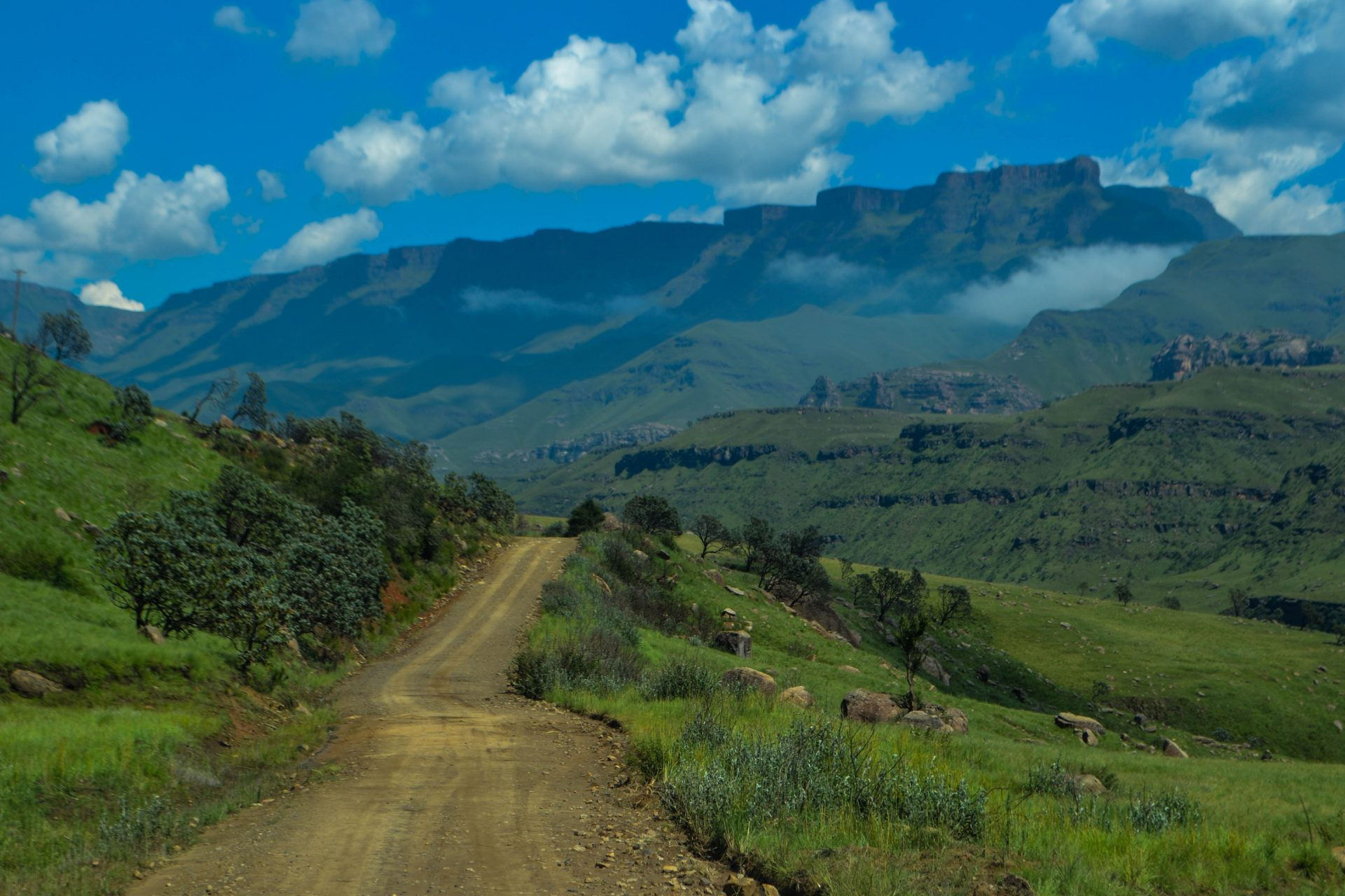 Lesotho Country Sani Pass South Africa