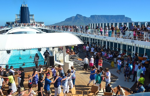 MSC Sinfonia Cape Town South Africa