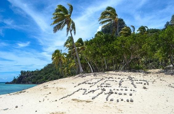 Modriki Island Fiji Cast Away Movie Island