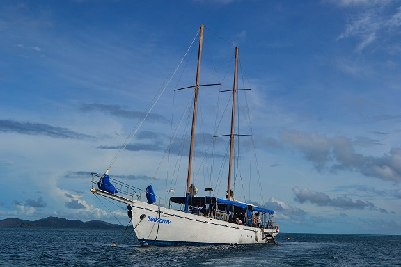 The Seaspray South Sea Cruises Fiji