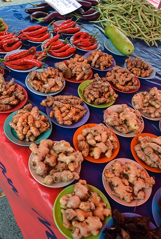 Sunday Market Kuching Sarawak Borneo