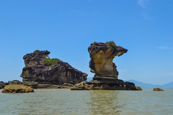 Sea Stacks Bako National Park Sarawak Borneo