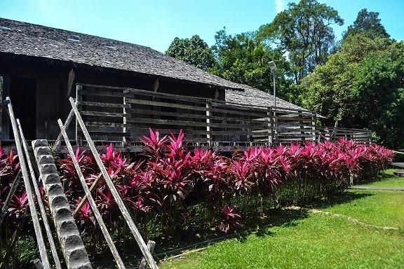 Borneo Longhouse Sarawak Cultural Village Borneo