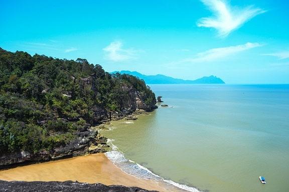 Kecil Beach Bako National Park Sarawak Borneo