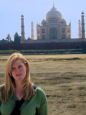 Jenny McIver Taj Mahal Agra India