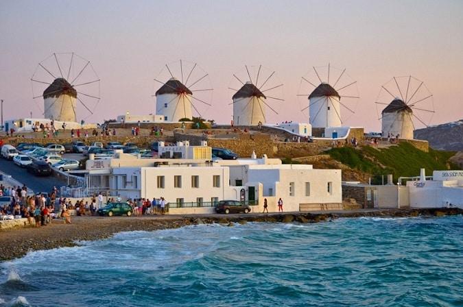 Mykonos Windmills Greek Islands