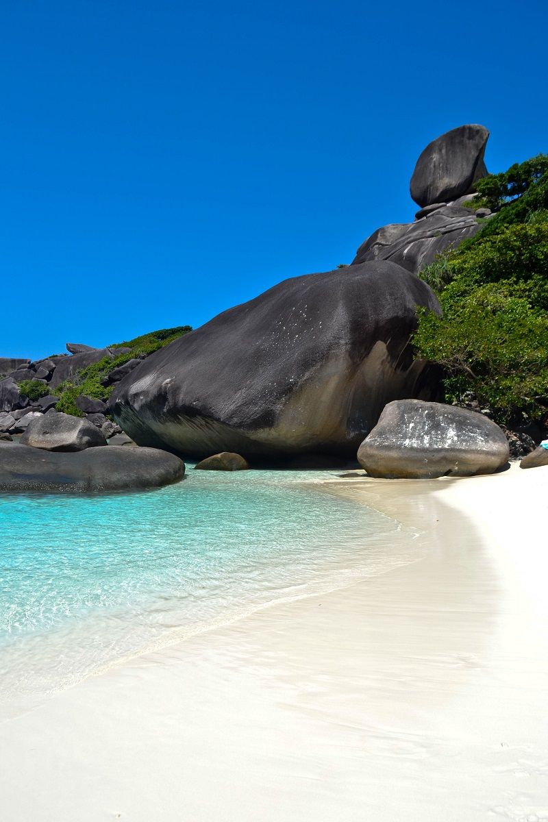 Sail Rock Similan Islands Thailand