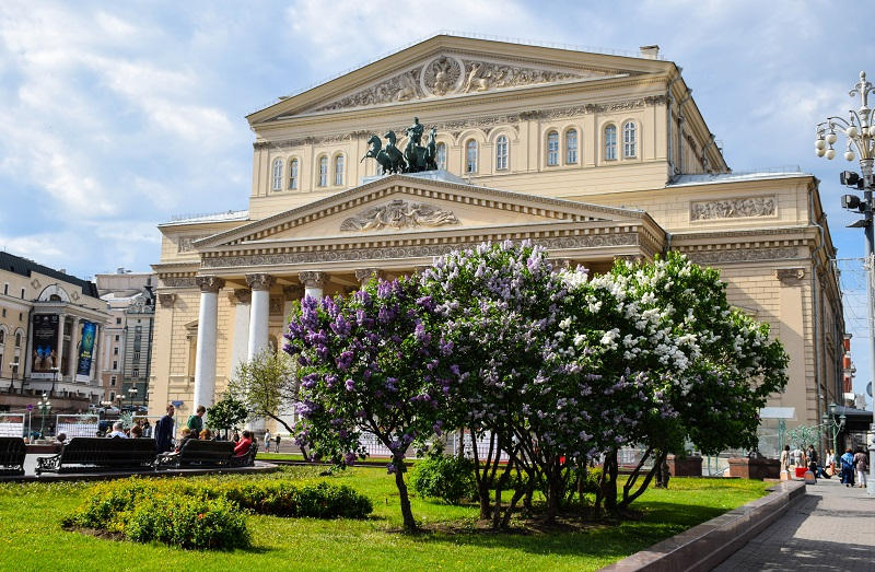 Bolshoi Theater Moscow Russia