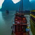 Junk Boat Halong Bay Vietnam