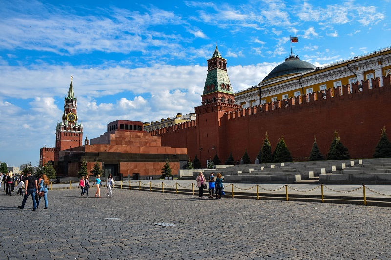 Kremlin Red Square Moscow Russia