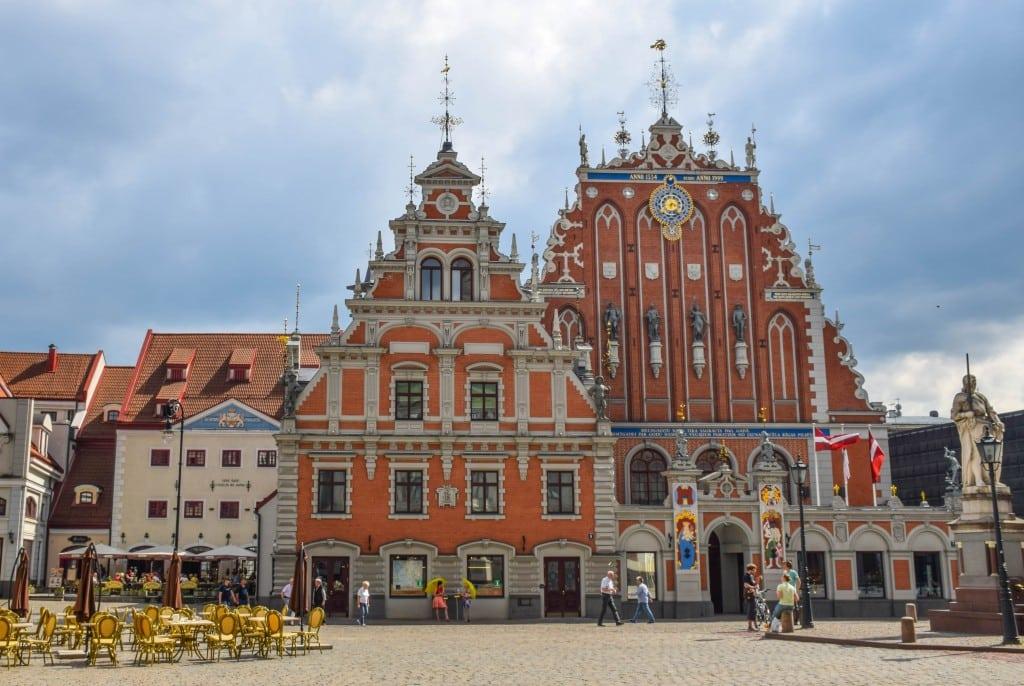 The House of Blackheads Riga Latvia