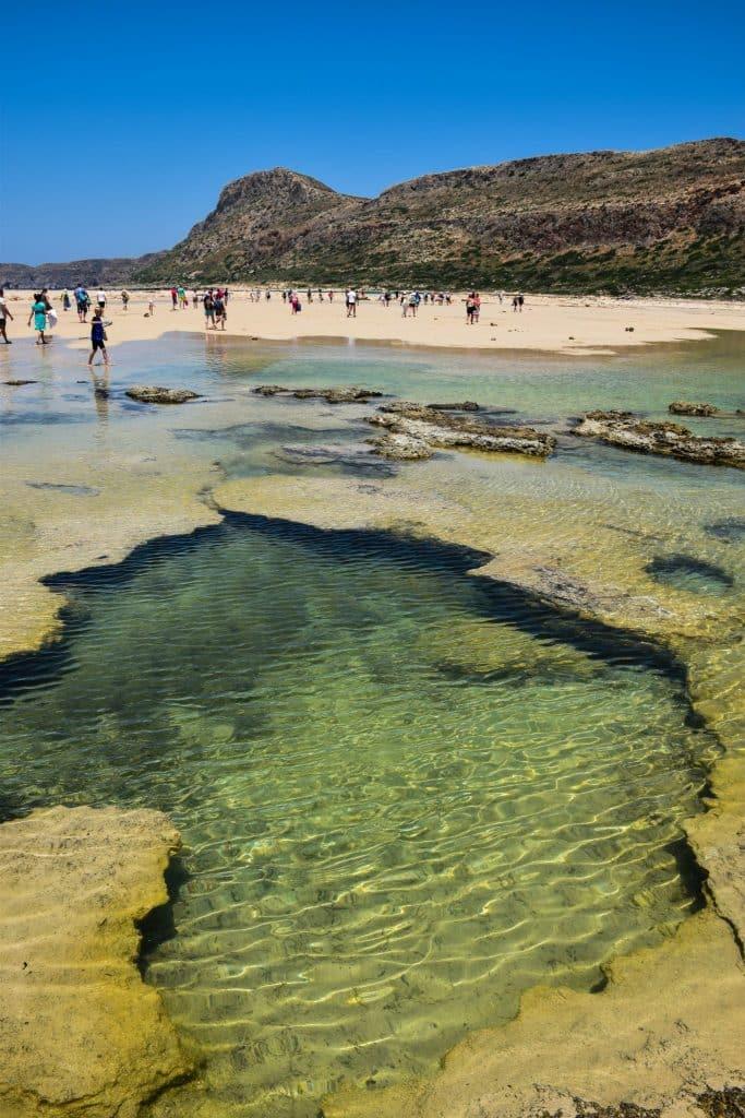 Balos Island Lagoon Crete Greece